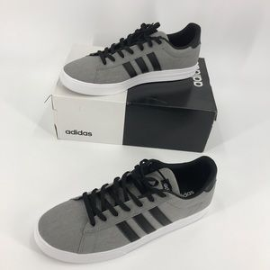 Adidas Mens 4 Daily 2 Shoes Sneakers